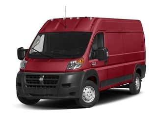 Flame Red Clearcoat 2018 Ram Truck ProMaster Cargo Van Pictures ProMaster Cargo Van 2500 High Roof 136 WB photos front view
