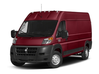Deep Cherry Red Crystal Pearlcoat 2018 Ram Truck ProMaster Cargo Van Pictures ProMaster Cargo Van 2500 High Roof 136 WB photos front view