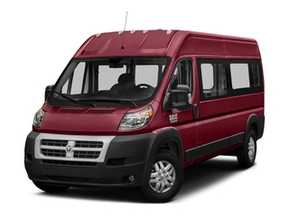 Deep Cherry Red Crystal Pearlcoat 2018 Ram Truck ProMaster Window Van Pictures ProMaster Window Van 2500 High Roof 159 WB photos front view