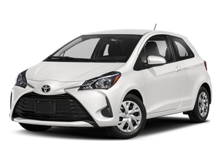Super White 2018 Toyota Yaris Pictures Yaris Hatchback 3D LE I4 photos front view