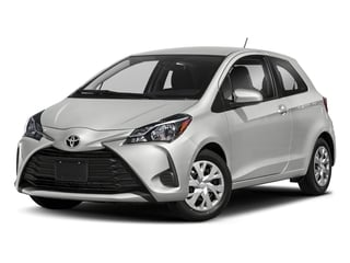 Classic Silver Metallic 2018 Toyota Yaris Pictures Yaris Hatchback 3D LE I4 photos front view