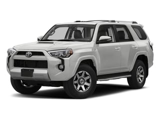 Classic Silver Metallic 2018 Toyota 4Runner Pictures 4Runner TRD Off Road 4WD photos front view