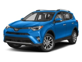 Electric Storm Blue 2018 Toyota RAV4 Pictures RAV4 Utility 4D Limited 2WD I4 photos front view