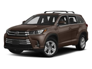 Toasted Walnut Pearl 2018 Toyota Highlander Pictures Highlander Utility 4D Limited 4WD V6 photos front view