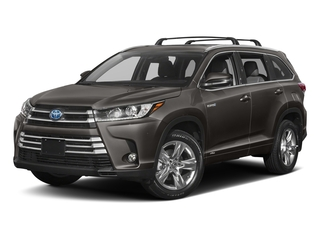 Predawn Gray Mica 2018 Toyota Highlander Pictures Highlander Utility 4D Limited 4WD V6 Hybrid photos front view