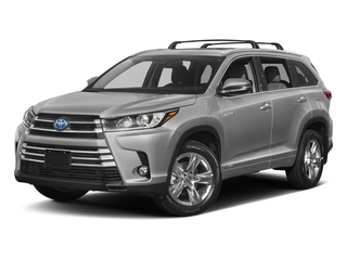 Celestial Silver Metallic 2018 Toyota Highlander Pictures Highlander Utility 4D Limited 4WD V6 Hybrid photos front view