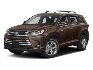 Toasted Walnut Pearl 2018 Toyota Highlander Pictures Highlander Utility 4D Limited 4WD V6 Hybrid photos front view