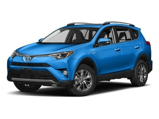 Electric Storm Blue 2018 Toyota RAV4 Pictures RAV4 Utility 4D XLE AWD I4 Hybrid photos front view