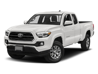 Super White 2018 Toyota Tacoma Pictures Tacoma SR5 Extended Cab 4WD I4 photos front view