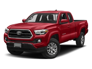 Barcelona Red Metallic 2018 Toyota Tacoma Pictures Tacoma SR5 Extended Cab 4WD I4 photos front view