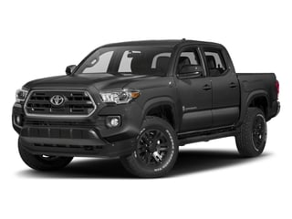 Magnetic Gray Metallic 2018 Toyota Tacoma Pictures Tacoma SR5 Crew Cab 4WD V6 photos front view