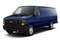 Dark Blue Pearl Metallic 2010 Ford Econoline Wagon Pictures Econoline Wagon Super Duty Extended Wagon XL photos front view
