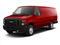 Vermillion Red 2010 Ford Econoline Wagon Pictures Econoline Wagon Super Duty Extended Wagon XL photos front view