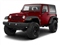 Deep Cherry Red Crystal Pearl Coat 2011 Jeep Wrangler Pictures Wrangler Utility 2D Rubicon 4WD photos front view