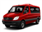 Flame Red 2011 Mercedes-Benz Sprinter Passenger Vans Pictures Sprinter Passenger Vans Passenger Van High Roof photos front view
