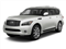 Moonlight White 2012 INFINITI QX56 Pictures QX56 Utility 4D 2WD photos front view