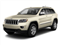 White Gold 2012 Jeep Grand Cherokee Pictures Grand Cherokee Utility 4D Overland 4WD photos front view