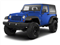 Cosmos Blue 2012 Jeep Wrangler Pictures Wrangler Utility 2D Sport 4WD photos front view
