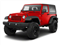 Flame Red 2012 Jeep Wrangler Pictures Wrangler Utility 2D Sport 4WD photos front view