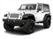 Bright White 2012 Jeep Wrangler Pictures Wrangler Utility 2D Sport 4WD photos front view