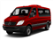 Hibiscus Red 2012 Mercedes-Benz Sprinter Passenger Vans Pictures Sprinter Passenger Vans Passenger Van High Roof photos front view