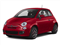 Rosso (Red) 2013 FIAT 500 Pictures 500 Hatchback 3D Pop I4 photos front view