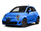 Laser Blu (Bright Met. Blue) 2016 FIAT 500 Pictures 500 Hatchback 3D I4 Turbo photos front view