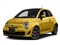 Giallo Moderna Perla (Pearl Yellow TC) 2016 FIAT 500 Pictures 500 Hatchback 3D I4 Turbo photos front view