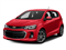 Red Hot 2017 Chevrolet Sonic Pictures Sonic 5dr HB Auto LT w/1SD photos front view
