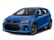 Kinetic Blue Metallic 2017 Chevrolet Sonic Pictures Sonic 5dr HB Auto LT w/1SD photos front view