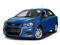 Kinetic Blue Metallic 2017 Chevrolet Sonic Pictures Sonic 4dr Sdn Auto Premier photos front view