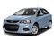 Arctic Blue Metallic 2017 Chevrolet Sonic Pictures Sonic 4dr Sdn Auto Premier photos front view
