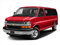 Red Hot 2017 Chevrolet Express Passenger Pictures Express Passenger RWD 3500 155 LT w/1LT photos front view