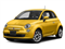 Giallo Moderna Perla (Pearl Yellow Tri-Coat) 2017 FIAT 500 Pictures 500 Pop Hatch photos front view