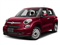 Rosso Perla (Deep Lava Red Pearl) 2017 FIAT 500L Pictures 500L Pop Hatch photos front view