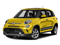 Giallo (Yellow) 2017 FIAT 500L Pictures 500L Trekking Hatch photos front view