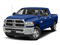 Blue Streak Pearlcoat 2017 Ram Truck 2500 Pictures 2500 Lone Star 4x2 Mega Cab 6'4 Box photos front view