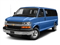 Kinetic Blue Metallic 2018 Chevrolet Express Passenger Pictures Express Passenger RWD 3500 155 LT photos front view