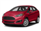 Hot Pepper Red Metallic Tinted Clearcoat 2018 Ford Fiesta Pictures Fiesta Titanium Sedan photos front view