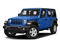 Ocean Blue Metallic Clearcoat 2018 Jeep Wrangler Unlimited Pictures Wrangler Unlimited Sport 4x4 photos front view