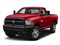 Bright Red 2018 Ram Truck 3500 Pictures 3500 SLT 4x2 Reg Cab 8' Box photos front view