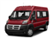 Flame Red Clearcoat 2018 Ram Truck ProMaster Window Van Pictures ProMaster Window Van 2500 High Roof 159 WB photos front view
