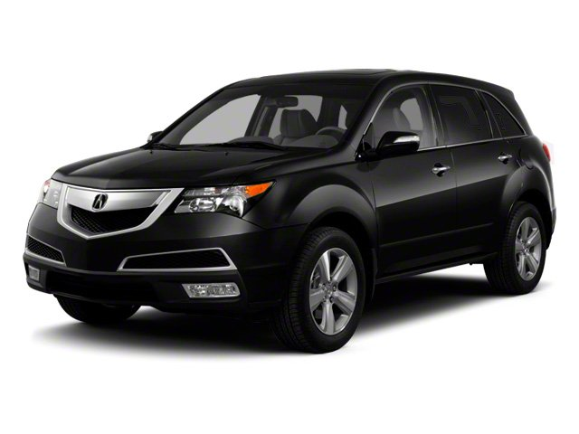 Crystal Black Pearl 2010 Acura MDX Pictures MDX Utility 4D AWD photos front view