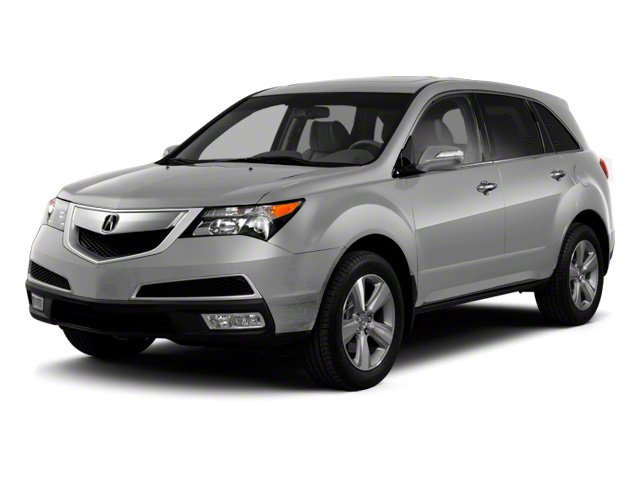 Palladium Metallic 2010 Acura MDX Pictures MDX Utility 4D AWD photos front view
