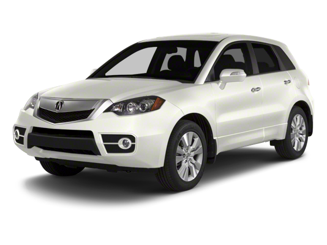 White Diamond Pearl 2010 Acura RDX Pictures RDX Utility 4D AWD photos front view