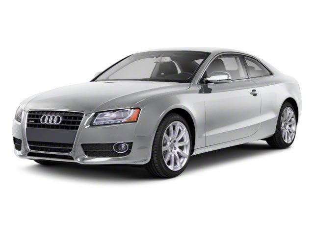 Ice Silver Metallic 2010 Audi A5 Pictures A5 Coupe 2D Quattro Prestige photos front view