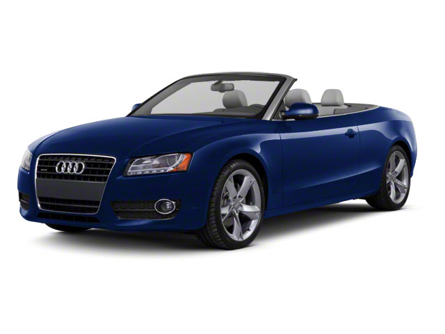 Deep Sea Blue Pearl 2010 Audi A5 Pictures A5 Convertible 2D Quattro Premium Plus photos front view