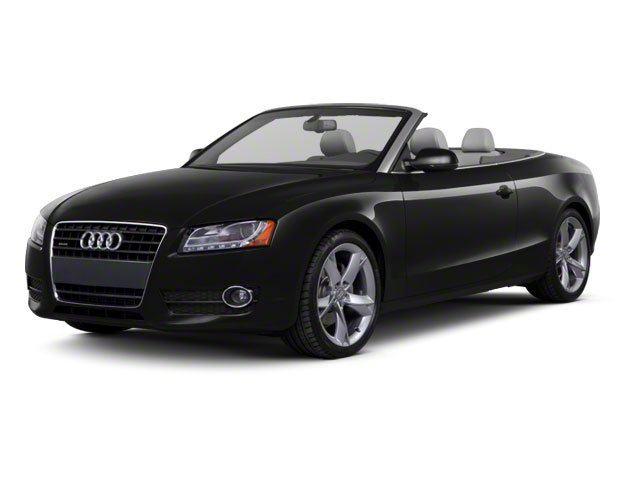 Brilliant Black 2010 Audi A5 Pictures A5 Convertible 2D Quattro Premium Plus photos front view