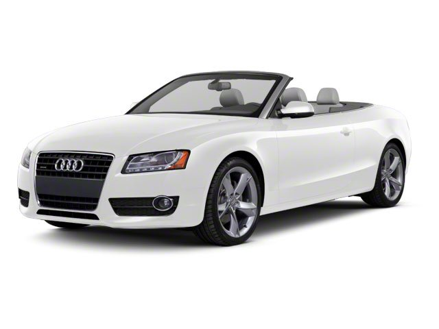 Ibis White 2010 Audi A5 Pictures A5 Convertible 2D Quattro Premium Plus photos front view