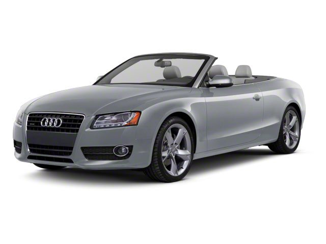 Meteor Gray Pearl 2010 Audi A5 Pictures A5 Convertible 2D Quattro Premium Plus photos front view
